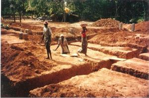 1993 the foundation of our first building