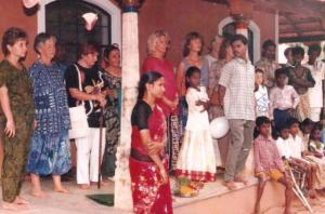 1995  inauguration of our first building