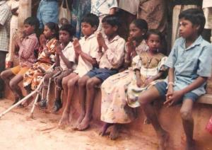 kids at inauguration ceremony