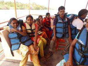 Boating in Pondicherry
